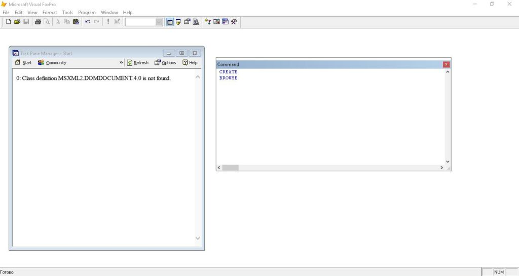 Fox Pro   Практическая работа №1 — Портал программирования